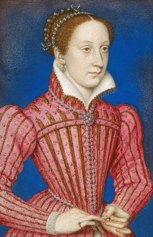 Retrato de Maria, Rainha dos escoceses.