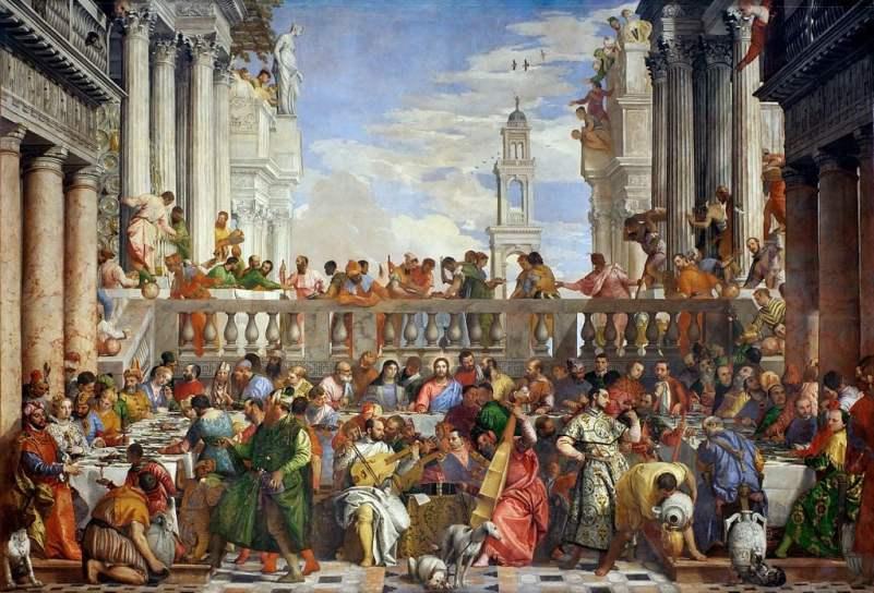 O casamento em Caná.