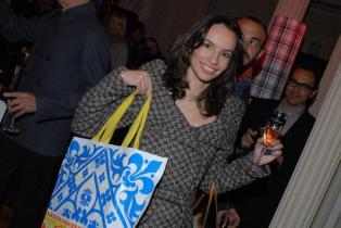 Denise Pitta Fashion Bubblesna festa de 10 anos do glamurama