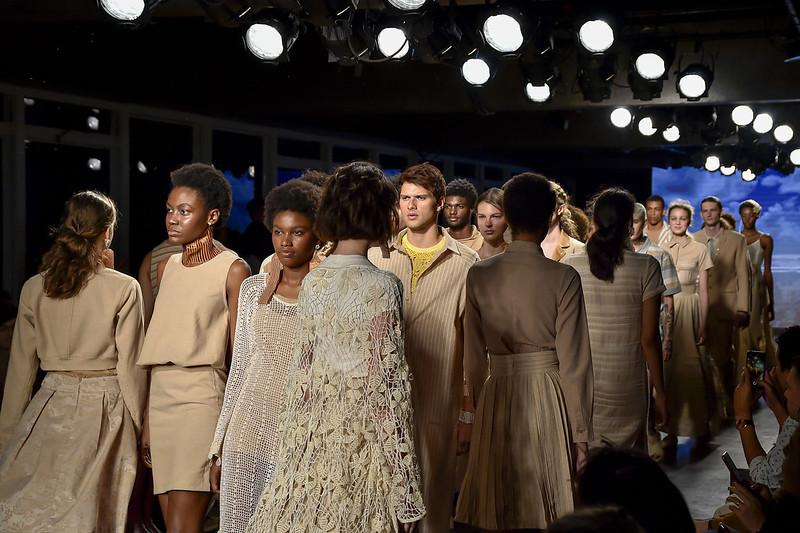 Natural Cotton Color no Brasil Eco Fashion Week 2019.