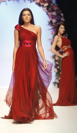 vestidos vermelhos festa