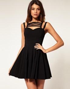 vestidos curtos pretos 37