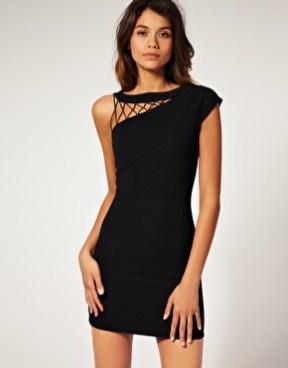 vestidos curtos pretos 45
