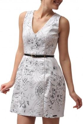 vestido carmim ARQUITETURA R$858