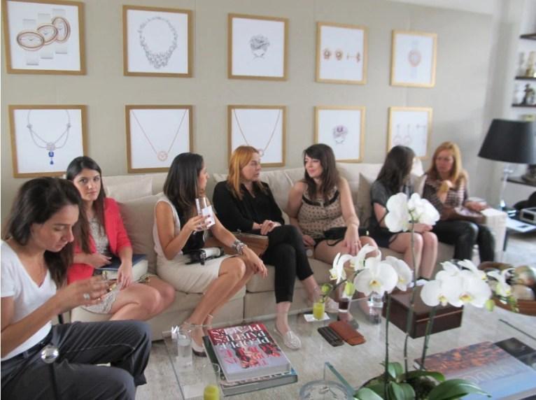 blogueiras em evento piaget brasil
