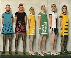 vestidos originais dos anos 60