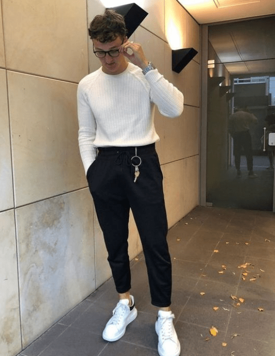 Blusa moletom com calça cós elástico