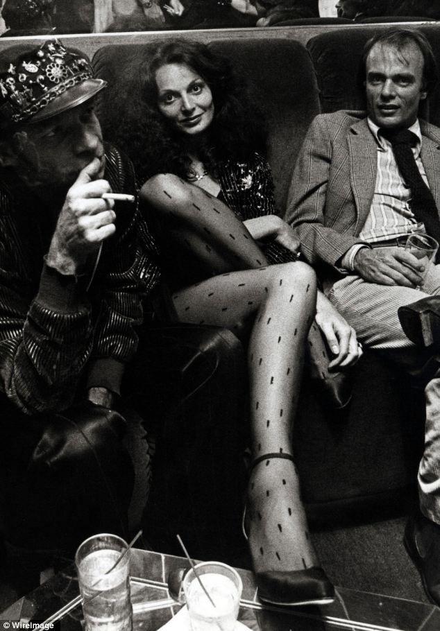 Diane von Furstenberg no Studio 54