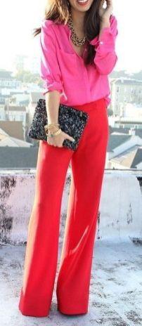 Rosa + Vermelho