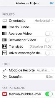 editando vídeo com Perfect video 2