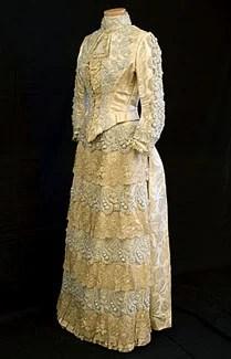 Vestido de 1890