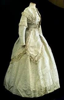 Vestido da Rainha Vitória de 1860