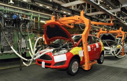 Fábrica da Ford em São Bernardo do Campo - BodyShop15 - Linha de montagem do Ford New Fiesta 1