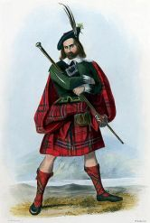 Origem kilts Escoceses