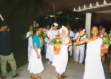 Em Salvador - Ba participando de lavagem