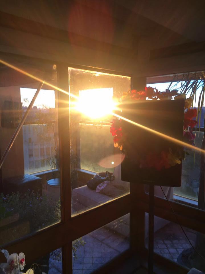 Por do sol caprichado
