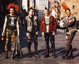 O xadrez tartan usado no movimento punk