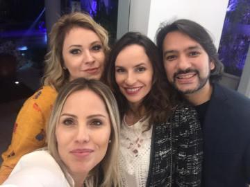 Lah Mariano, Chris Castro, Denise Pitta e Igor Rodrigues