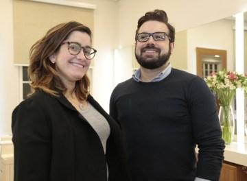 Luciana Ramos e Thiago Mendonça