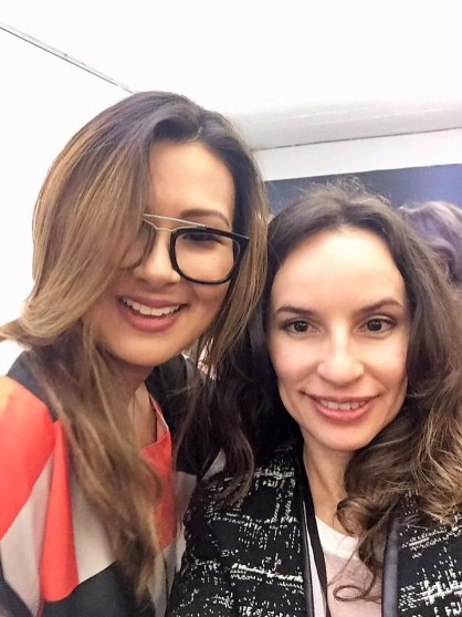 Erika Okazaki e Denise Pitta