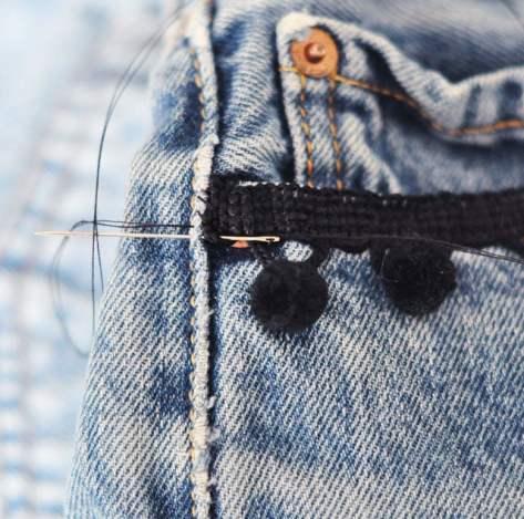 DIY-Pom-Pom-Jeans-Embellished-Vintage-Levis-4