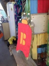 Projeto Prancha Ecológica- Eco Garopaba - Reciclagem - Pranchas de gafarra PET 9