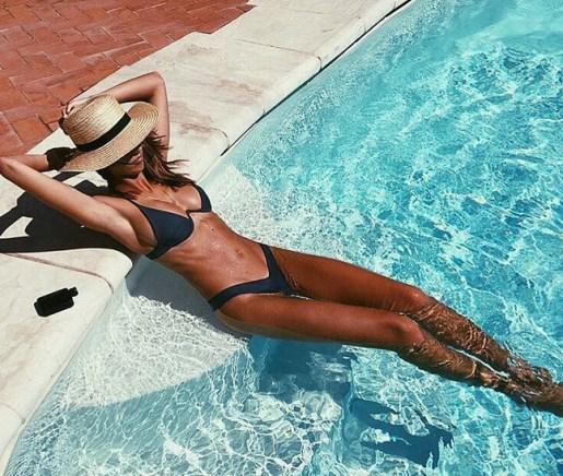Biquíni com suporte - A marca australiana Bamba pipocou em vários perfis do Instagram