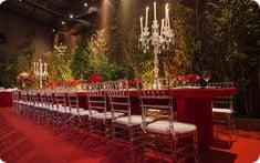 mesa inspirada no filme a bela e a fera