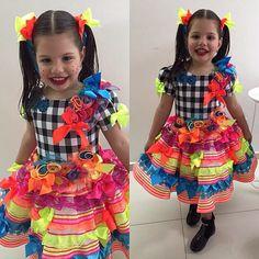 Os melhores vestidos caipiras - moda infantil (3)