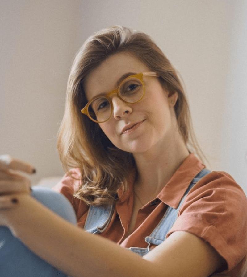 Óculos aro vintage