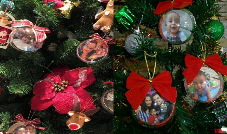 Decoração de Natal com foto