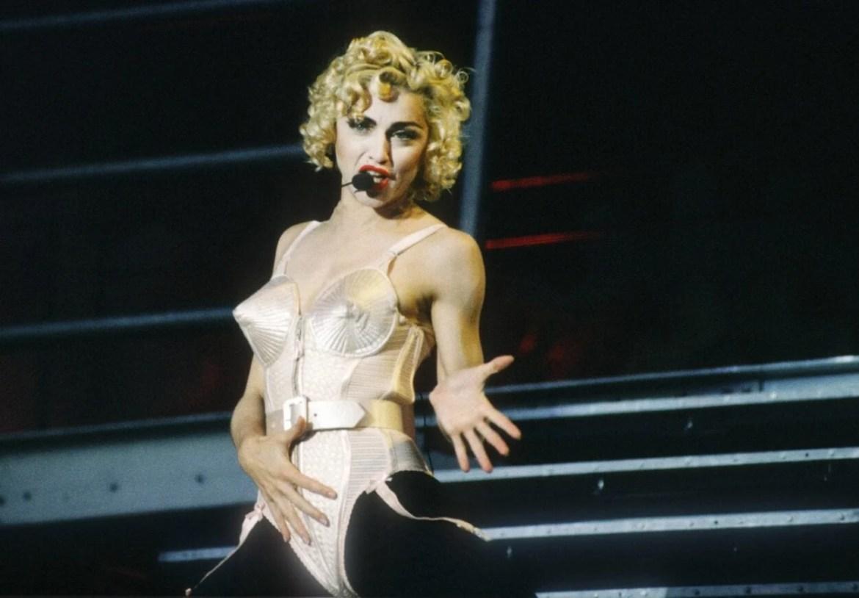 Sutiã cônico da Madonna