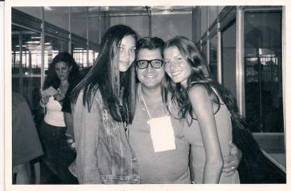 1998 - Ana Beatriz Barros e Gisele na semana de moda BarraShopin RJ