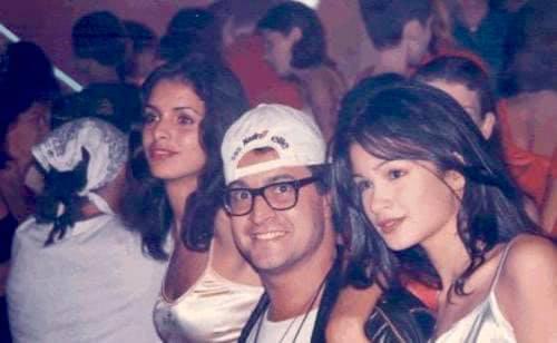 1995 - Raquel Pires e Caroline Ribeiro em Seul na final do Elite Model Look