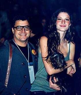 Com Gisele Bundchen e Vida no backstag do BarraShopping RJ