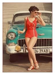 moda praia anos 50