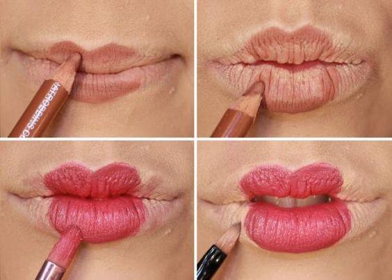 Maquiagem junina: aprenda a fazer uma boca de boneca