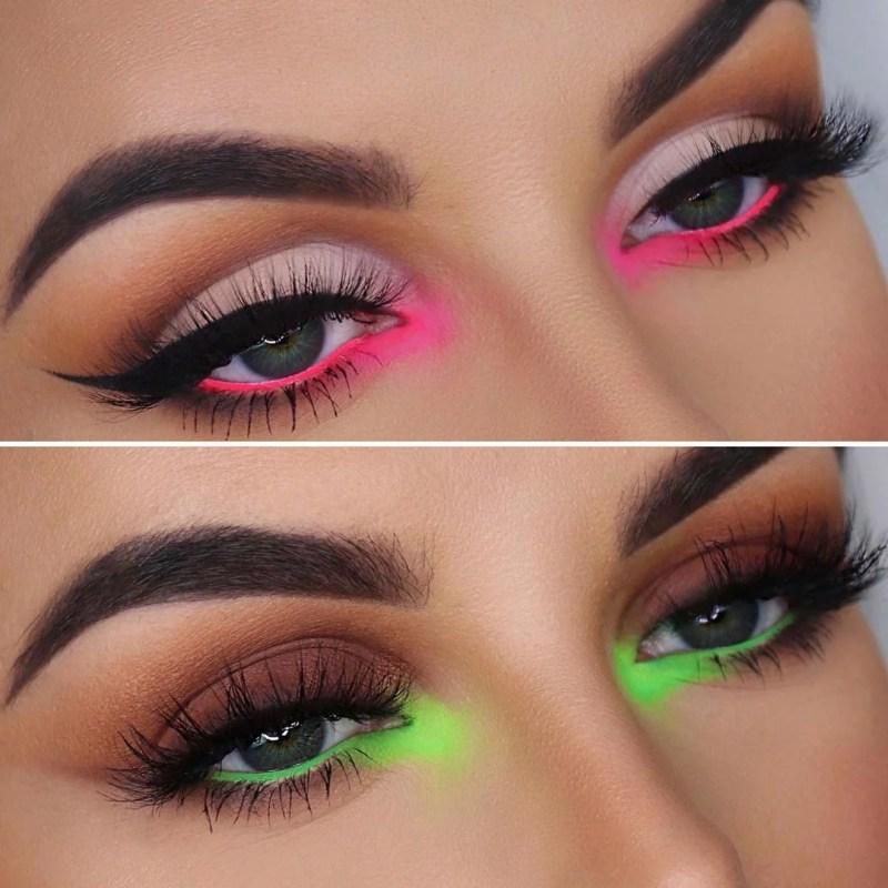 Maquiagem Neon