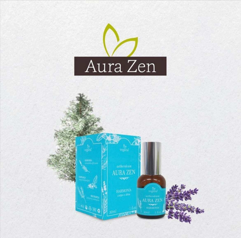 Produtos da linha Aura Zen