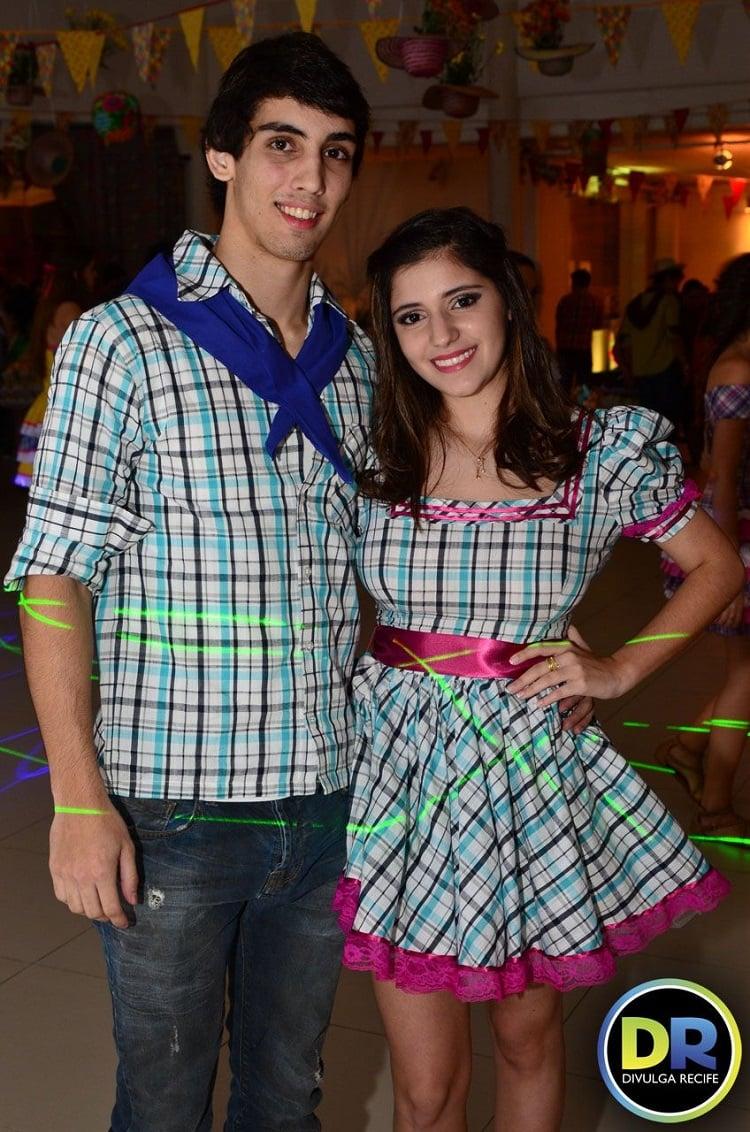 roupa de festa junina para casal