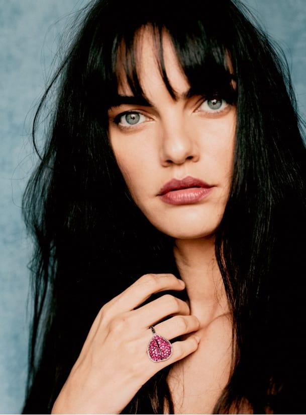 modelo Barbara Fialho em campanha da ank