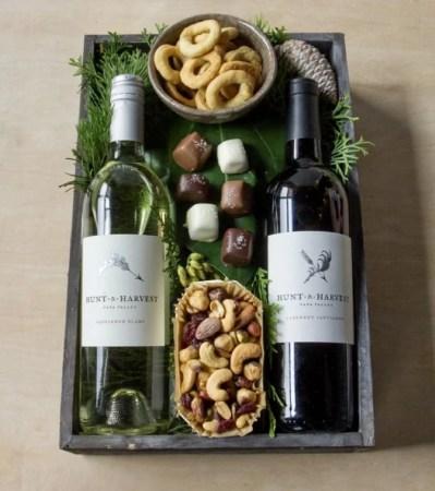 Kit vinho com aperitivos - Presente de Dia dos Pais