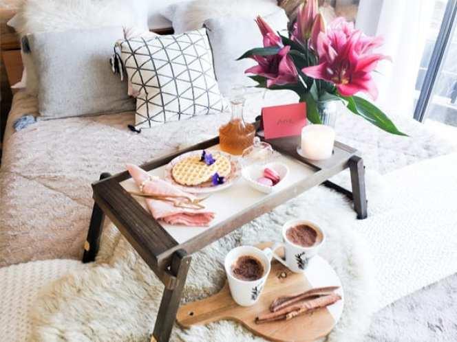 café da manhã romantico surpresa jantar romantico