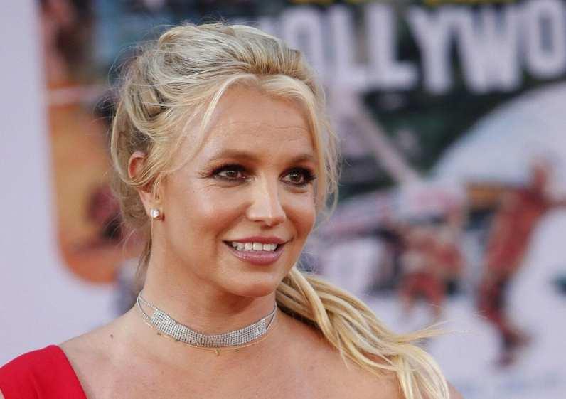 Britney aos 38 anos