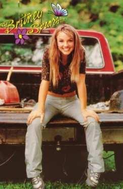foto de Britney Spears bem novinha na adolecencia