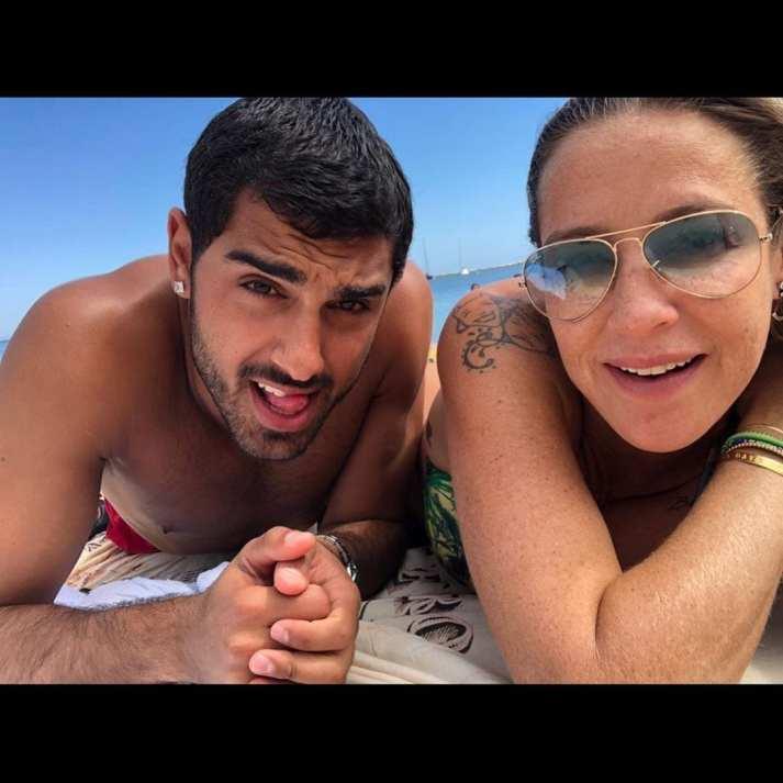 Luana Piovani e Ofek Malka juntos na praia - Chega ao fim o namoro de Luana Piovani