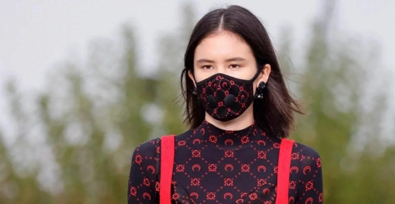 tendência máscara facial