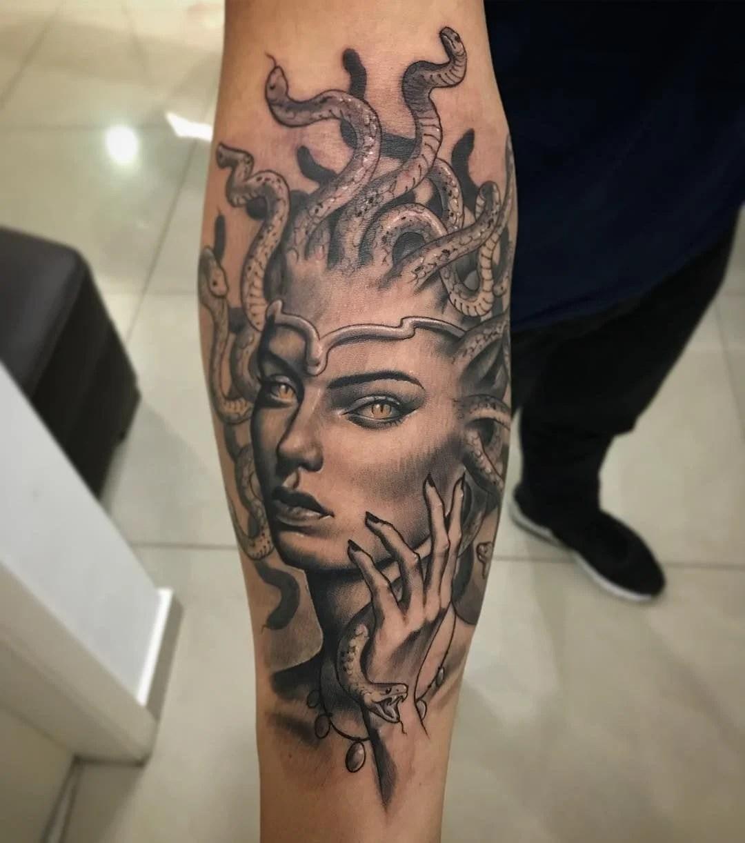 tatuagem de medusa o que significa