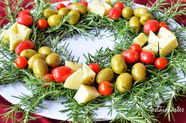 decoração de natal comestível