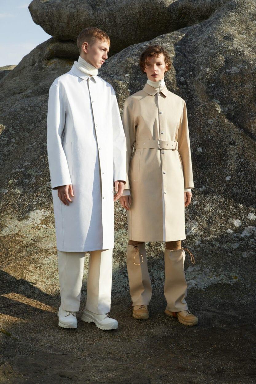 minimalismo na moda Jil Sander